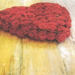 NR - 14 Hart volledig rode rozen 125 euro