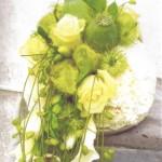 NR 20 - Hedendaags bloemstuk in bolvorm 140 euro